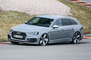 RS 4 Avant im Supertest