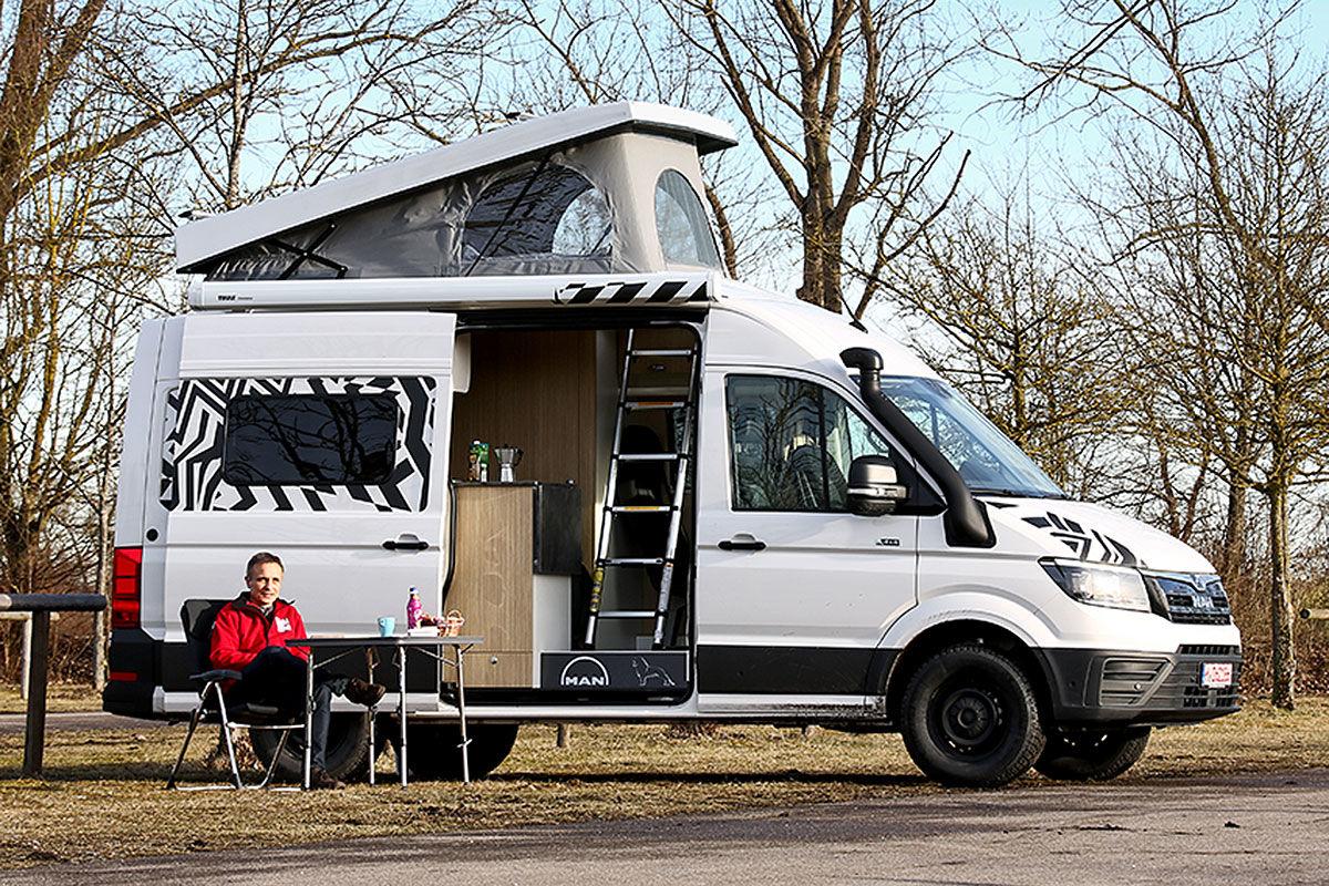 Wohnmobil-Test MAN TGE 4x4