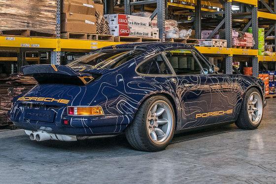 """Porsche 911 """"Mulholland Drive"""" von Singer Vehicle Design"""