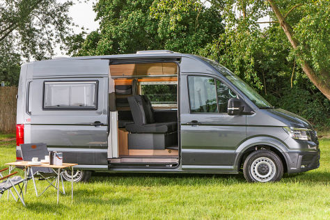 vw crafter von reimo 2018 vorstellung. Black Bedroom Furniture Sets. Home Design Ideas