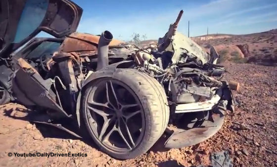 Amis entdecken McLaren in der Wüste
