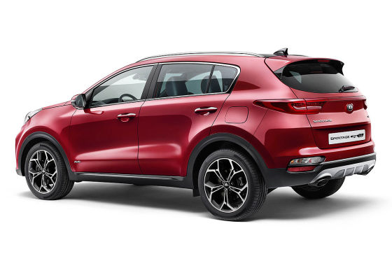 Sportage-Facelift bekommt Diesel-Hybrid