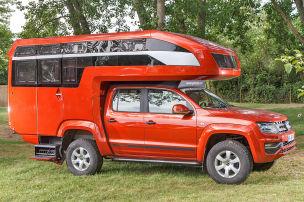 Amarok als Luxus-Camper