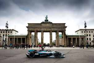 Rosberg und Frentzen am Start