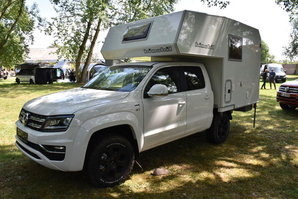 Bimobil-Wohnkabine Husky 220 auf VW-Amarok-Basis