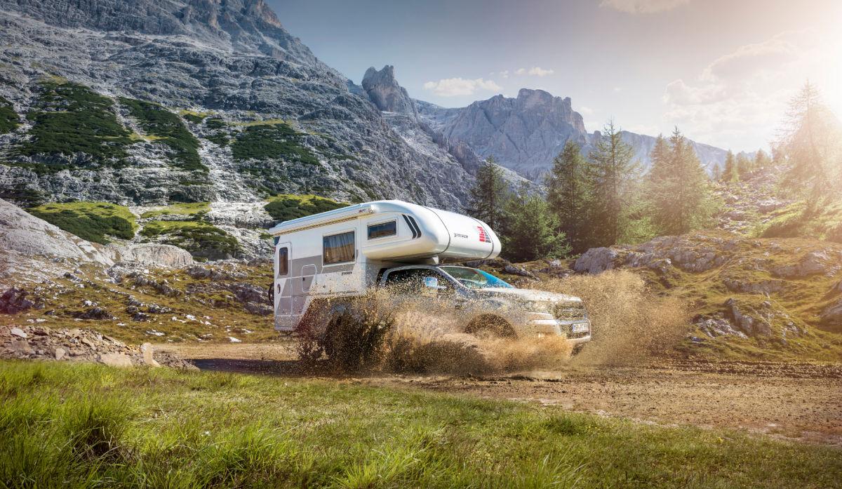 Ford Ranger mit Tischer-Wohnkabine