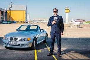 Im BMW Z3 wie Bond sein
