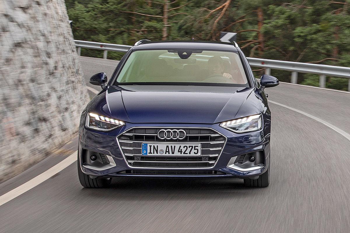 Audi A4 Facelift (2019): Bilder