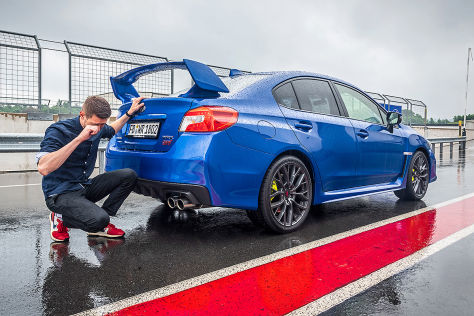 Subaru Wrx Sti 2018 Test Generationen Produktionsende Autobild De