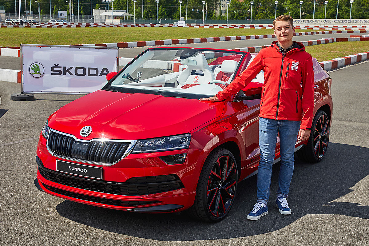 "Skoda Karoq Cabrio ""Sunroq"" (2018): offene SUV-Studie"