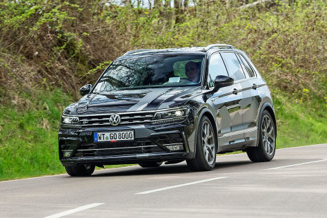 tuning suv unter dampf apr tiguan 400 im test. Black Bedroom Furniture Sets. Home Design Ideas