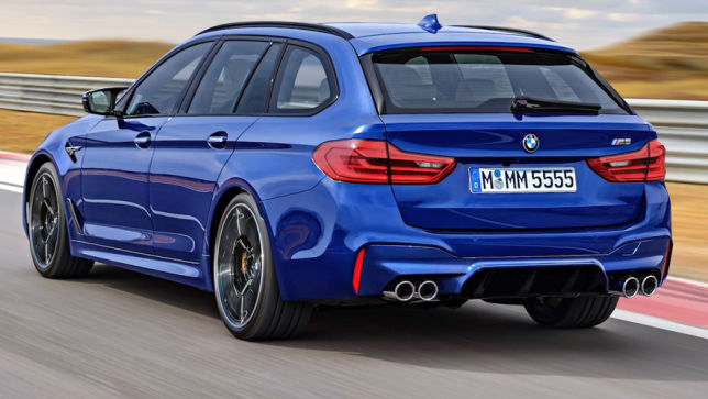 Video Bmw M5 Touring Illustration Autobild De