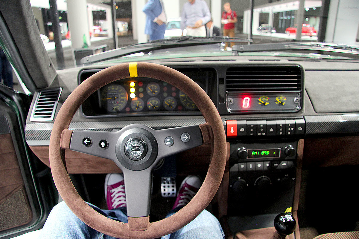 Lancia Delta Futurista (2018): Automobili Amos
