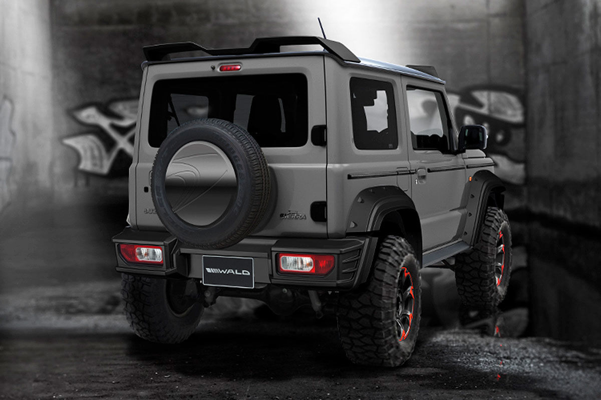 bildergalerie suzuki jimny 2019 tuning bilder. Black Bedroom Furniture Sets. Home Design Ideas