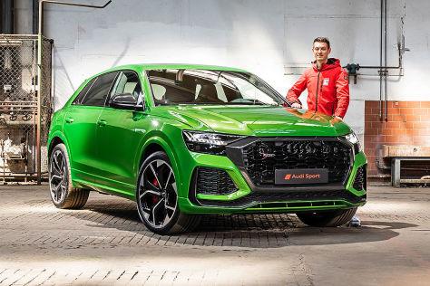 Audi Rs Q8 Mit 600 Ps Und Fettem Auftritt Breiter Ging Es Nicht Autobild De