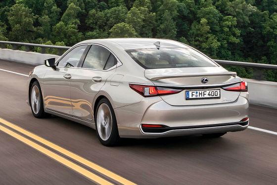 hybride für die oberklasse: lexus es 300h im test - autobild.de