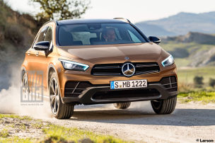 Mercedes schrumpft den GLA