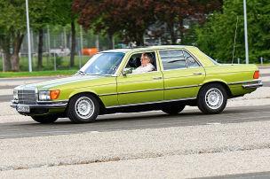 40 Jahre ABS: Mercedes S-Klasse W 116