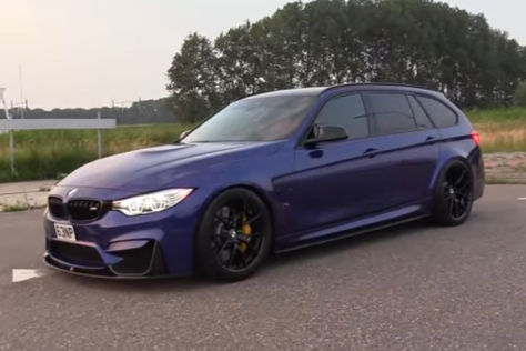 BMW M3 F81 Touring (2018): Video, Motor, PS