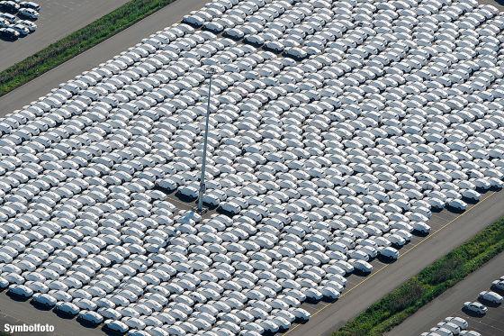 BER wird zum VW-Parkplatz