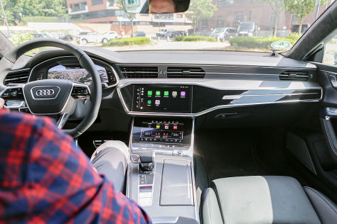 Audi A7 (2018): Connectivity-Check
