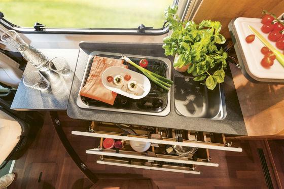 Küche Malibu Van