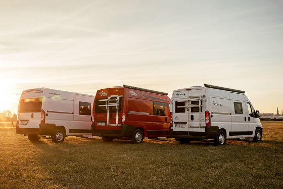 Weinsberg Caratour 541 MQ, Roadcar R 540, Clever Vans Tour 540