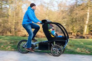 E-Bikes f�r Familien