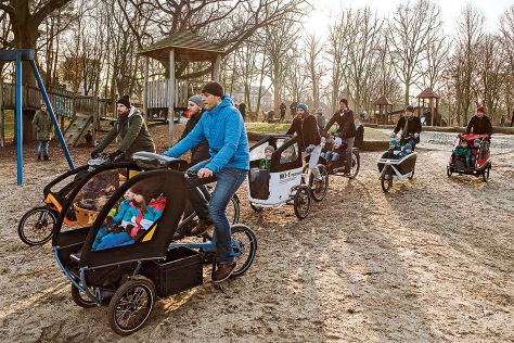 lastenr der im test e cargobikes f r familien. Black Bedroom Furniture Sets. Home Design Ideas