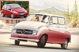 Autos von heute im Design von gestern