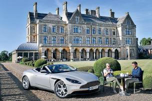 Im Reich von Aston Martin