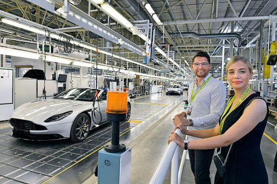 Im Königreich von Aston Martin