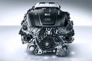 Mercedes-AMG 4.0 V8 Biturbo (2018): Technik