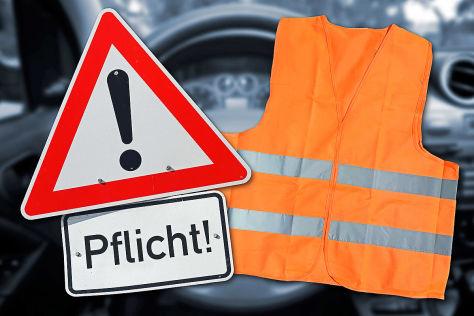 ie Warnweste – mehr Sicherheit in gefährlichen Verkehrssituationen