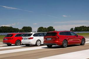 Audi A4 Avant/BMW 3er Touring/Volvo V60: Test