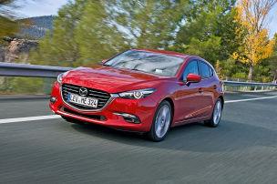 Mazda3 ganz vorn