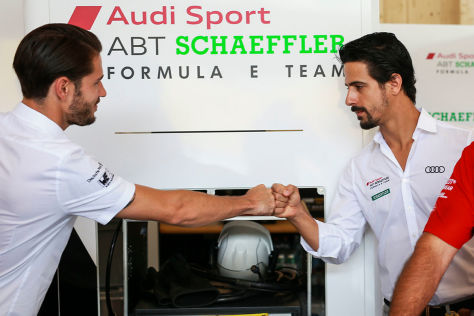 Formel E: Audi Meister
