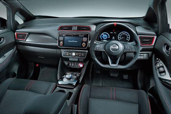 Sportliche Optik für den Elektro-Nissan