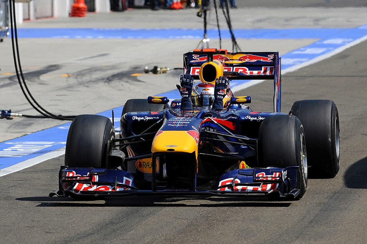Formel 1: Vettels Fahrfehler in der Bildergalerie