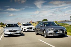 Audi A6/BMW 5er/Volvo S90: Test