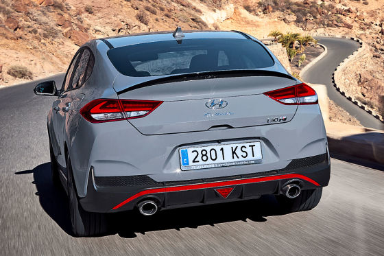 Alle Infos zum Hyundai i30 Fastback N
