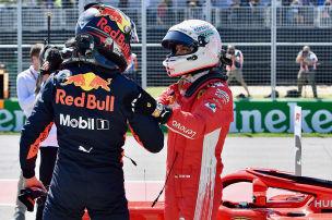 Verstappen verteidigt Vettel