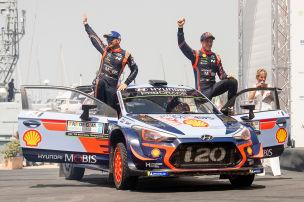 0,7 Sekunden entscheiden WRC-Lauf!
