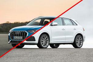 Audi Q3: Alt gegen neu