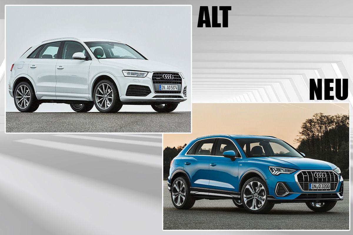 Audi Q3 (2018): Alt gegen neu