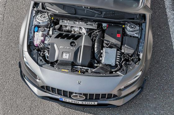 Mercedes-AMG A 45 mit Drift-Modus