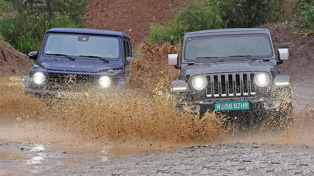 Jeep Wrangler und Mercedes G-Klasse: alles andere als SUV - autobild.de