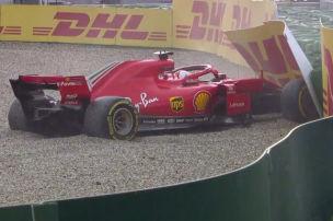 Vettel wirft Heimsieg weg