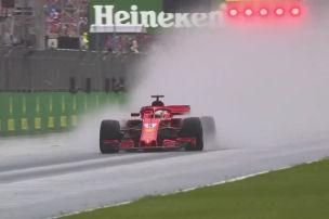 Wettergott hat Vettel verlassen