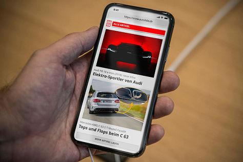 AUTO BILD DIGITAL auf dem Smartphone